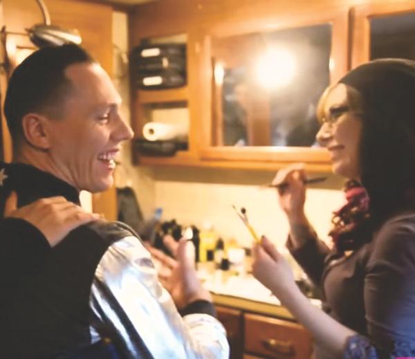 jessica reid fox - tiesto 7up makeup artist